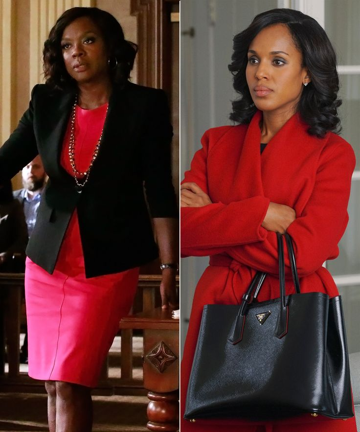 What It's Like to Dress Two of TV's Biggest Girl Bosses, Annalise Keating and Olivia Pope from InStyle.com