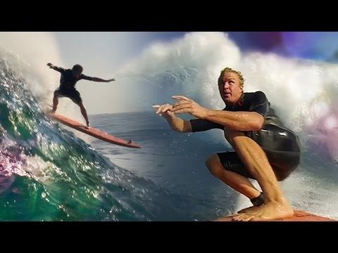 Who is JOB 4.0 PREMIERE - Soft-top surfing at Jaws Ep. 1