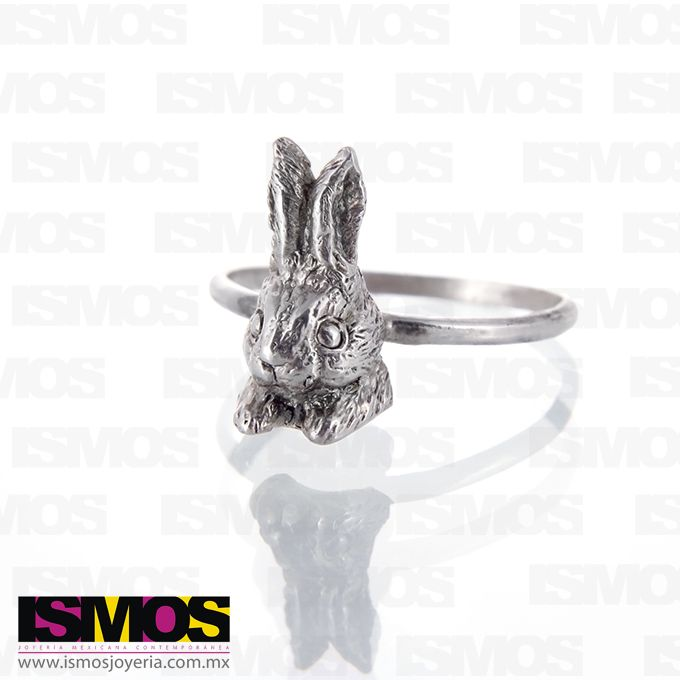 ISMOS Joyería: anillo en plata de conejo // ISMOS Jewelry: little bunny silver ring