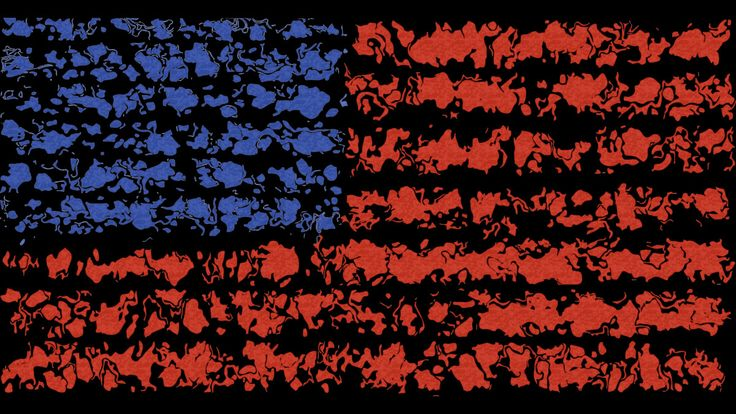 usa flag is a T Shirt designed by ElArrogante to illustrate your life and is available at Design By Humans