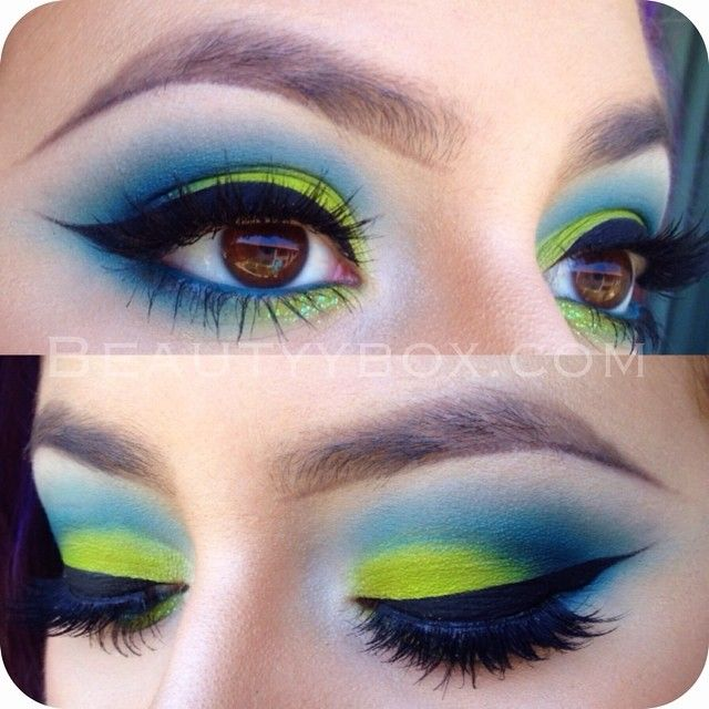 Urban Decay Electric Palette and Heavy Metal Glitter Liner in Distortion •@houseoflashes 'Iconic' lashes