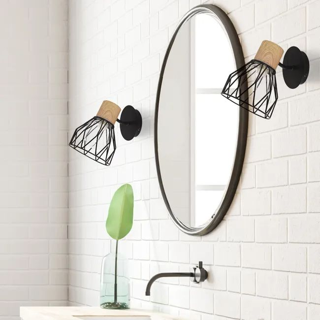 46+ Miroir salle de bain avec tablette et spot ideas