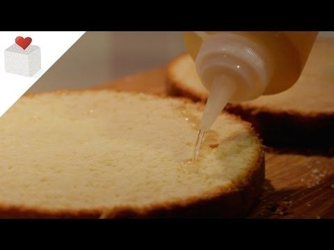 Cómo hacer almíbar para bizcochos jugosos | Recetas de repostería por Azúcar con Amor