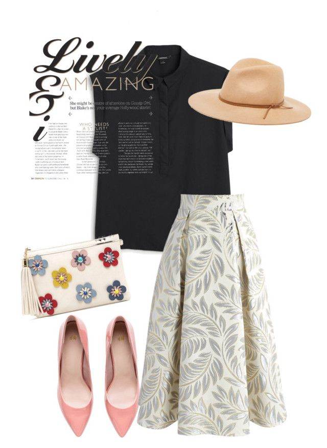 """""""pumps"""" by masayuki4499 ❤ liked on Polyvore featuring Monki, Chicwish and Amicale"""