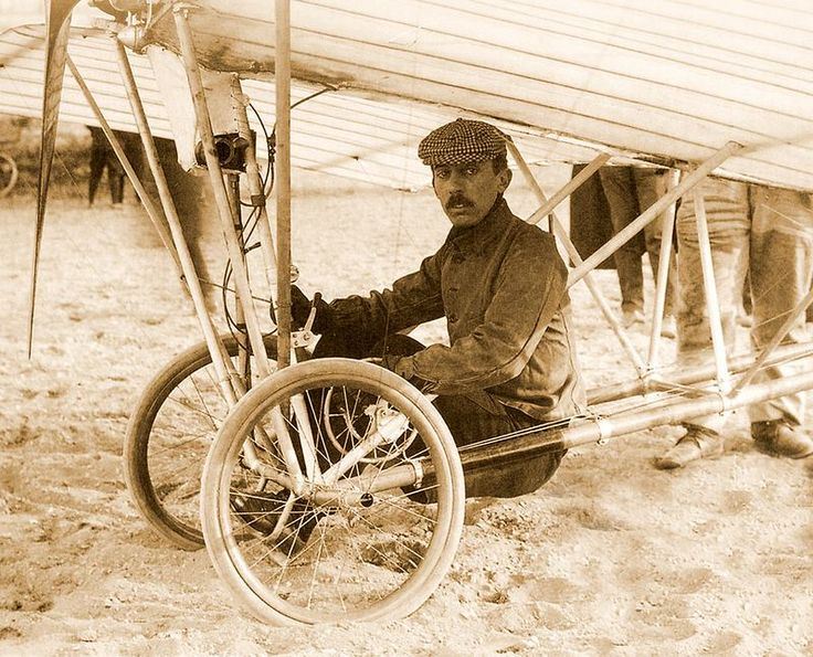 ALBERTO SANTOS DUMONT - One of the early pioneers of flight, many Brazilians think Santos Dumont, not the Wright brothers, was the first to fly.