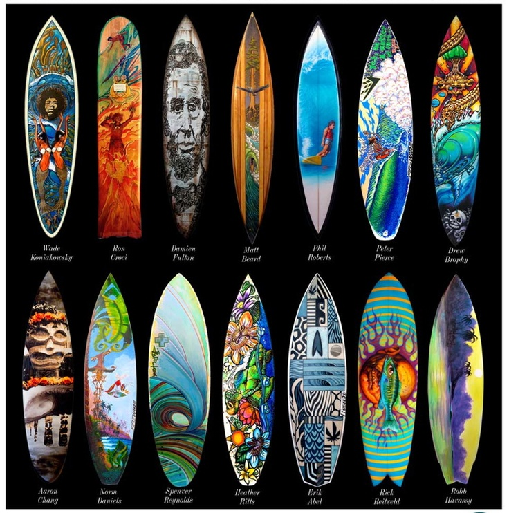 Google Image Result for http://3.bp.blogspot.com/-7JKZLSGvyKg/T0JXB2masfI/AAAAAAAAAjU/kmV-jhH8KoI/s1600/Surfboard%2BArtist.jpg: Art Stuff, Surf Art, Surfboardart, Surfboard Blog, Benefits Surfaid, Art Benefits, Surfaid Auction, Surfboard Art, Boards Art