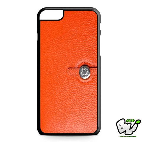 Hermes Wallet Orange iPhone 6 Plus Case | iPhone 6S Plus Case