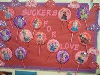 Preschool Valentine's Day Bulletin Board Idea