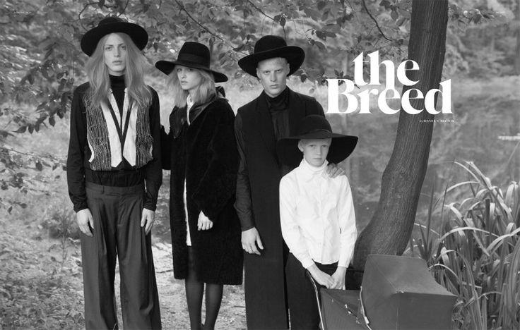 Amish style by Daniel Schröder for Sleek Magazine fw 2011