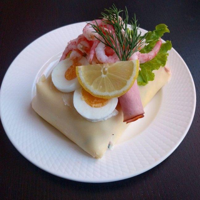 Smörgåstårta / Smörgåsbakelse | Tjockkocken #lchf