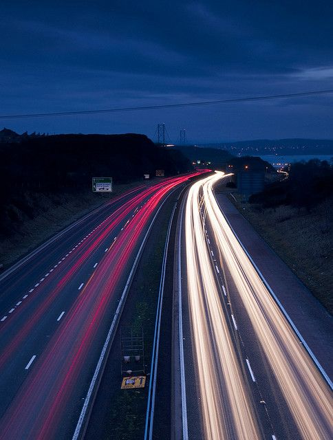 light trails, learn how to do this here http://trick-photography.org/trick-photography-book-review/