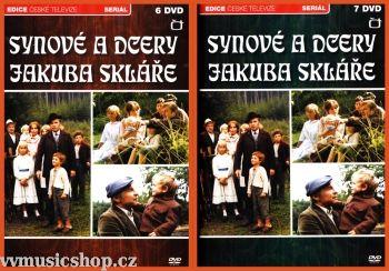 Televizní seriál z Edice České televize Synové a dcery Jakuba Skláře na DVD.