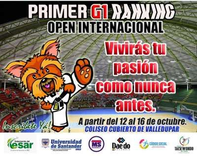 El spot publicitario de Taekwondo Radio para el primer G1 de Taekwondo del Cesar y Open de Valledupar