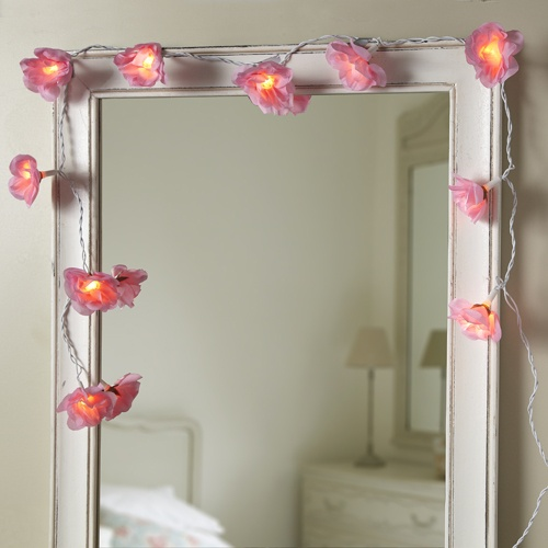 26 Best Mirrors And Fairy Lights Images On Pinterest