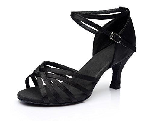Oferta: 14.99€ Dto: -32%. Comprar Ofertas de VESI-Zapatos de Baile Latino de Tacón Alto/Medio para Mujer Negro 36 barato. ¡Mira las ofertas!