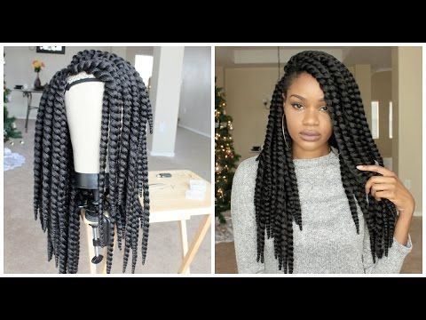 How I Made My Braided Wig