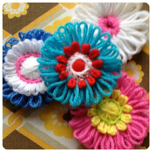 58 Best Flower Loom Projects Images On Pinterest