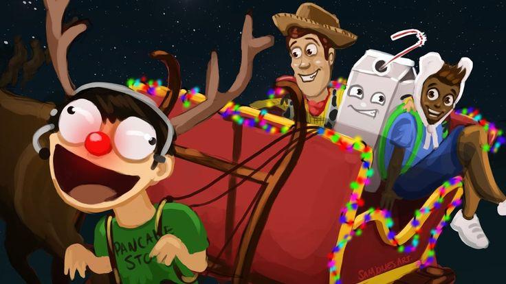 Gmod Sandbox Funny Moments - Saving Christmas!