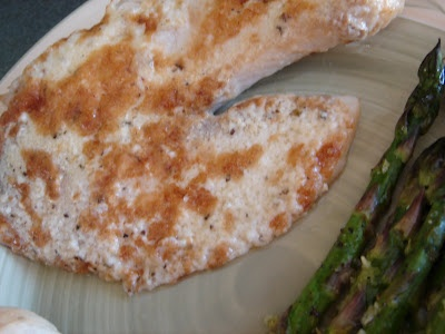 Broiled Parmesan Tilapia and Roasted Asparagus with Lemon | Annie's Eats