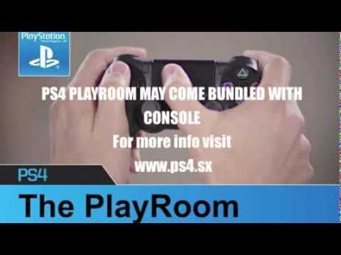PS4 PlayRoom May Come as Bundle Pack