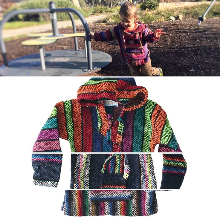 Mexican Baja Sweater / Jumper for Kids