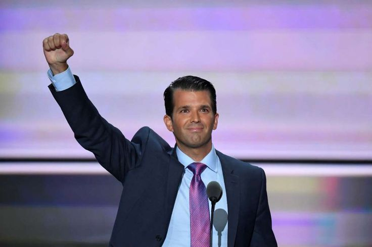 Donald Trump Jr.'s Twitler salute