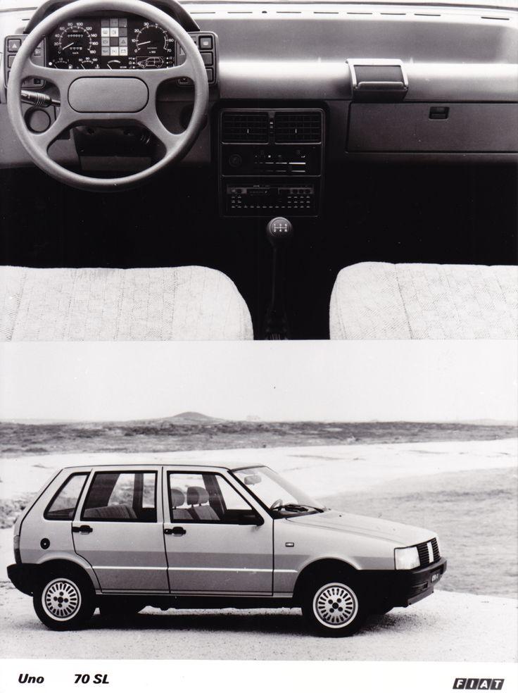 Fiat Uno 70 SL (Salon Brussels, 1/86)