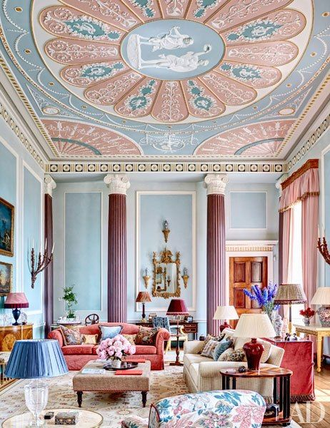 Tour eight gorgeous centuries-old landscapes that still influence modern design Step inside the French château renovated by AD100 designer Timothy Corrigan Don't miss the exquisite restoration of Venice's the Gritti Palace hotel