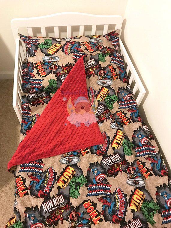 Marvel Toddler Bedding Set Spider Man Iron Man Toddler Bedding