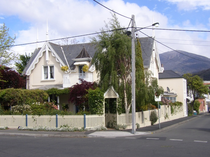 This is one of the houses i would love to live in. It is in Battery Point Hobart Tasmania.
