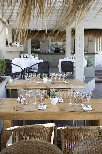 COCOON restaurant design inspiration bycocoon.com   hotel design   project design   renovations   design products for easy living   Dutch Designer Brand COCOON   El Chiringuito, Ibiza beach restaurant.