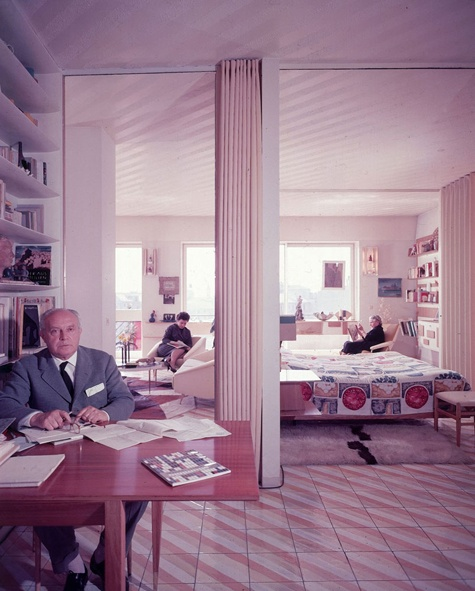 Gio Ponti: poet, painter, industrial designer, architect and founding editor of Domus magazine.
