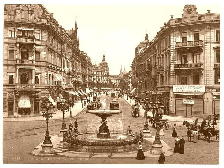 Frankfurt am Main - Germany ca. 1890-1900