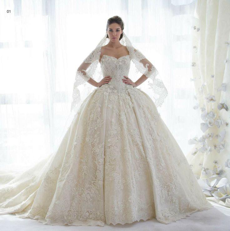 فستان زفاف الاميرات فقط 880 دولار