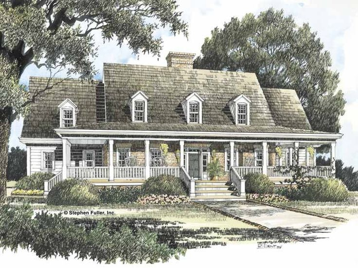 Lovely Eplans Farmhouse House Plan   Southern Farmhouse   3007 Square Feet And 3  Bedrooms(s