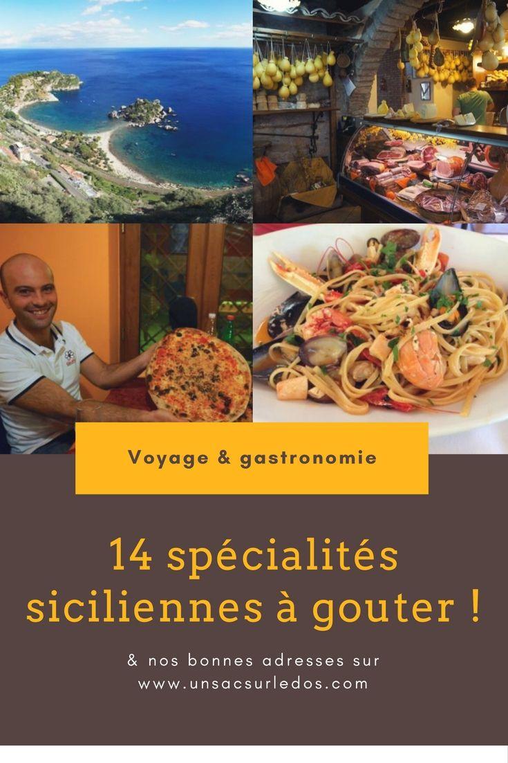 Buon appetito ! Voici les 14 spécialités siciliennes à ne pas manquer lors d'un voyage surcette merveilleuse île italienne… et nos conseils et bonnes adresses en bonus ! ça nous donne faim rient que d'y repenser !  -- cuisine, gastronomie, Sicile, Sicilia Italie, pizza, glace, pâte