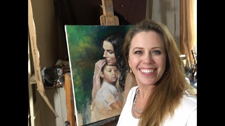 Portrait Painting Demonstration with Jessica Henry - YouTube