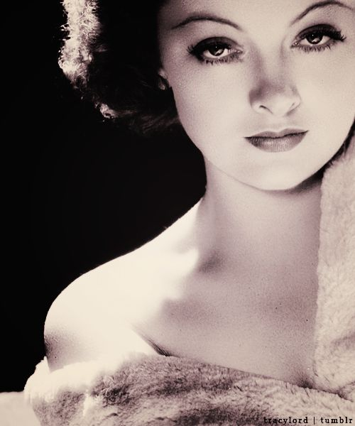 Myrna Loy, a beautiful lady and a great humanitarian.