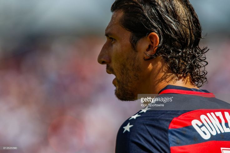 United States defender Omar Gonzalez (USA) (3) during the 1-1 draw between the United States and Panama on July 08, 2017 in the opening round CONCACAF Gold Cup game at Nissan Stadium in Nashville, TN.