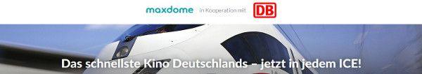 Maxdome Bahn Ticket: Deutschlandweites Bahnticket und 3 Monate Filme und Serien bei Maxdome nur 3999 Euro #urlaub #reisen