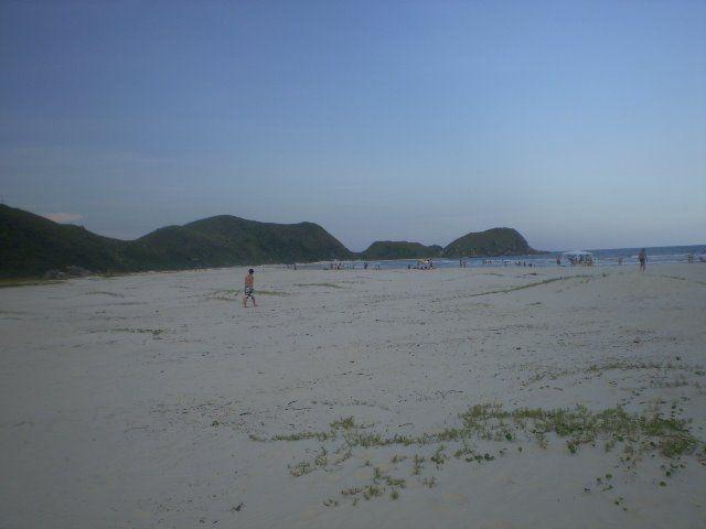 Praia de Fora, Ilha do Mel.