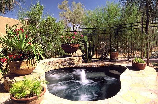 Outdoor Spa Area Ideas Backyards