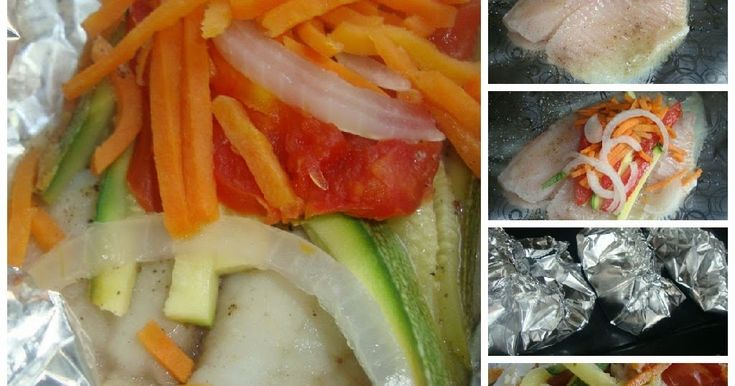 Una rica idea para preparar los filetes de pescado de una manera fácil, rápida y muy sana, pues en realidad no lleva grasa, puedes agreg...