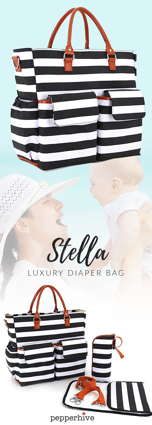 practical and stylish diaper bag - finally!