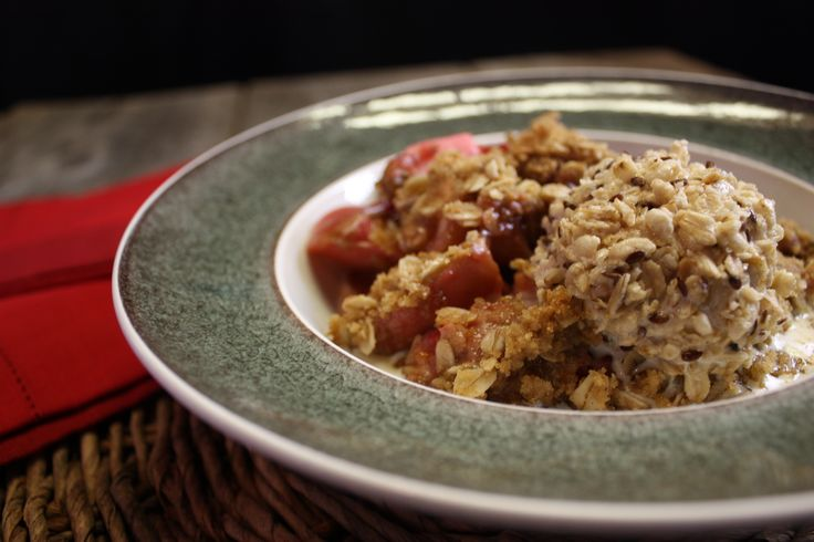 Apple Oatmeal Crisp - Chef Michael Smith