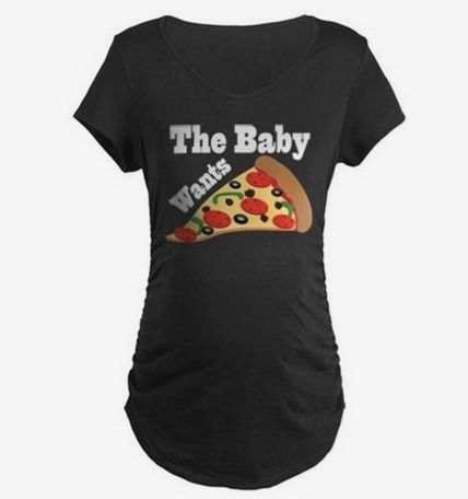 For when you have pregnancy cravings: | 21 Funny T-Shirts You Can Wear Only When You're Knocked Up