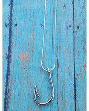 Women's Fish Hook Necklace,