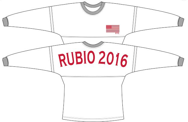 Use code sratgirlpolitics for 10% off this Rubio 2016 Long Sleeve Jersey