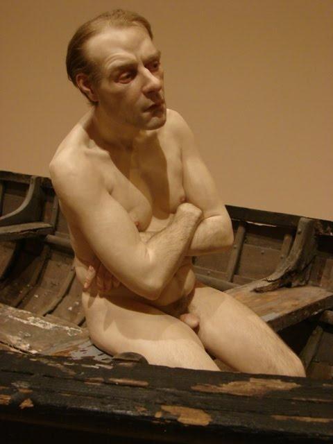 Ron Muek - Man in a boat (2002)