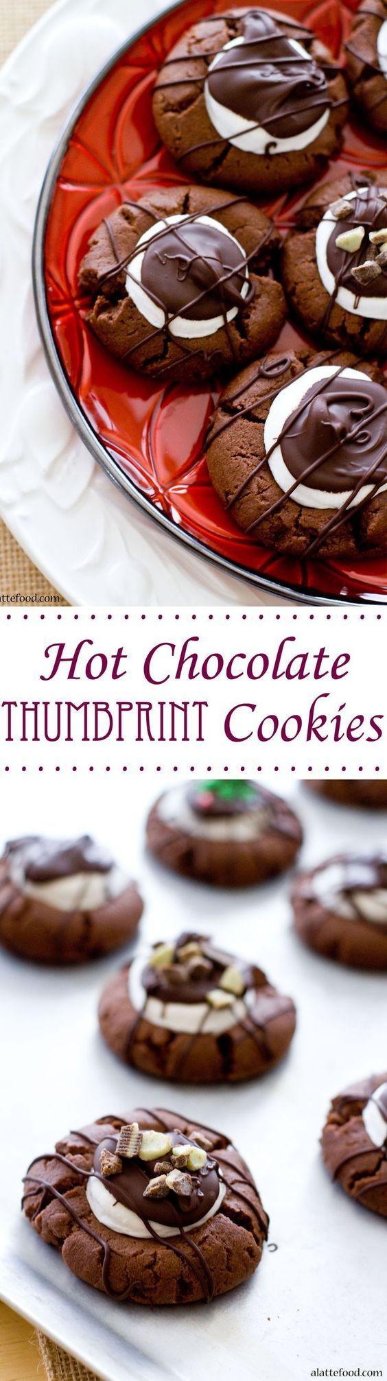 25+ best Chocolate thumbprint cookies ideas on Pinterest | Xmas ...